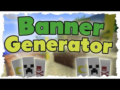 Minecraft Banner Crafting Generator - MINECRAFT 1.8 Tutorial -  Banner craften leicht gemacht!