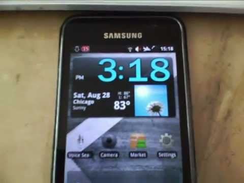 Top 10 Must Have Android Apps - presented on the Samsung Galaxy S i9000 Video