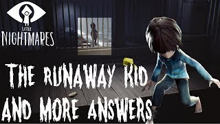 The Runaway Kid is NOT The Bread Kid | Little Nightmares: Secrets of the Maw