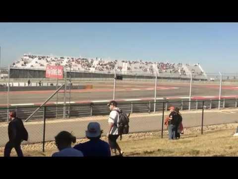 F1 cars 2013 COTA