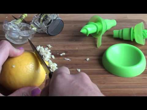 Mes nouveaux kitchen Toys : Garlic Zoom et Citrus Spray