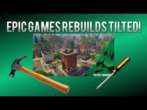 EPIC GAMES MAY REBUILD TILTED *METEOR FILLED*
