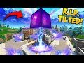 CUBE *DESTROYS* BUILDING IN TILTED TOWERS!   Fortnite Funny Fails And WTF Moments! #326