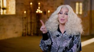 "MAMMA MIA! 2 Here We Go Again ""Ruby"" Cher On Set Interview"