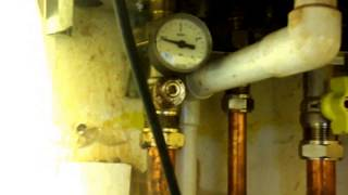 COMBI BOILER  ADDING  Water to Fill Radiators Increse Pressure