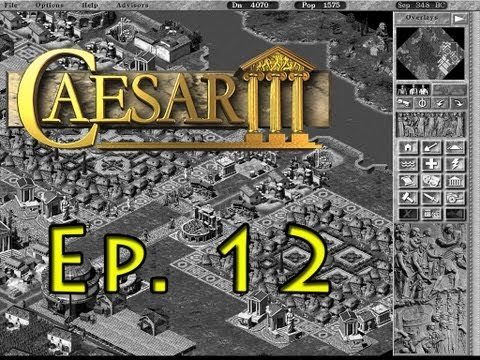 Caesar 3 - Lugdunum - Go go Gadget Cheat Mode!