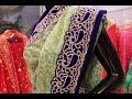 Designer Velvet Saree in Stone Work || Fancy Pallu || Party Wear || Wedding Wear thumbnail