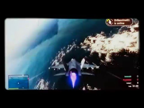 GTA 5 Sick Plane Stunts 2 ( Whaling crash)