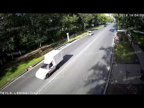 Полицейская погоня в Красном Селе 18.09.18