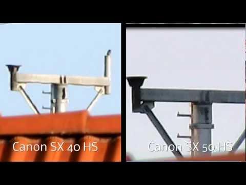 Canon SX50 Vs SX40 Zoom Test - Bald Eagles