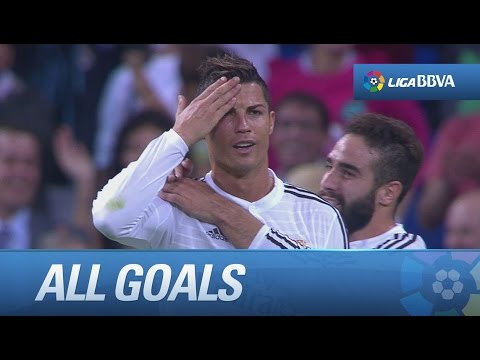 All goals Real Madrid (5-1) Elche CF - HD