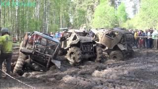 Off-Road vehicles vs Sleeping policeman , Mud race