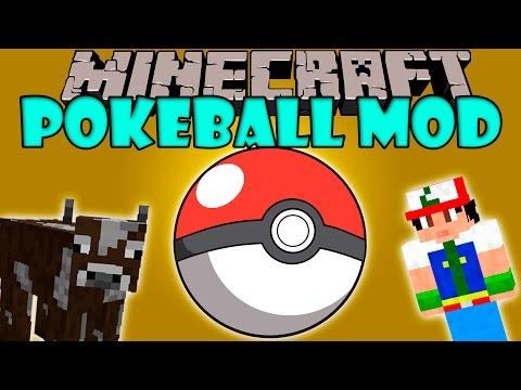 POKEBALL MOD - Agumon yo te elijo!! - Minecraft mod  1.5.2. 1.6.4. 1.7.2. 1.7.10 y 1.8 Review