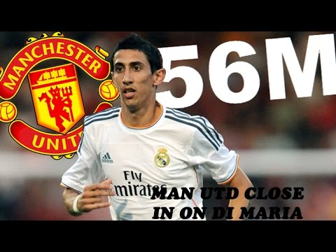 Manchester United Close in on 56m Angel Di Maria