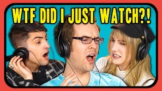 YOUTUBERS REACT TO WTF DID I JUST WATCH COMPILATION #2