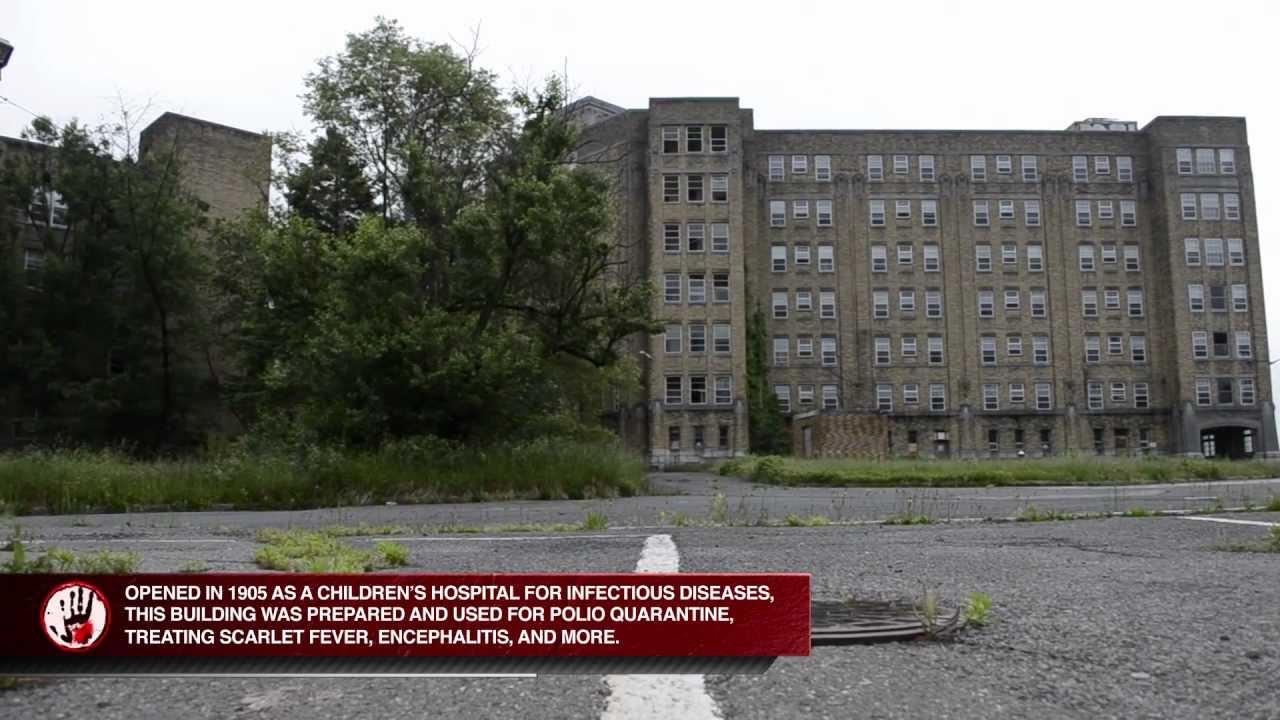 Urban Exploration Abandoned Isolation Hospital Nj Youtube