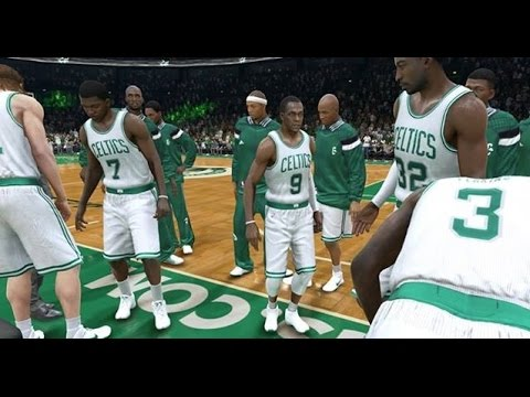 NBA 2015 - Indiana Pacers vs Boston Celtics - Post Highlights - NBA LIVE 15 PS4 - HD