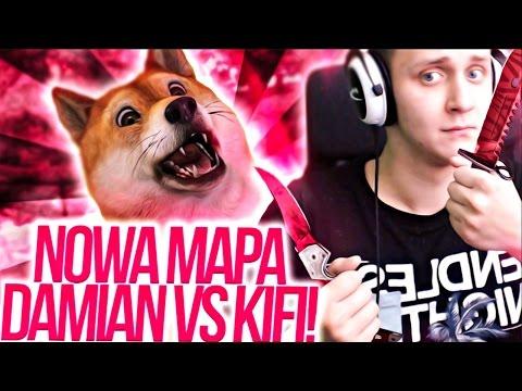 NOWA MAPA DO SZUKANIA KOSY w CSGO! | DaMian vs KiFi!