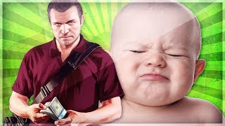 TROLLING a Baby in GTA 5