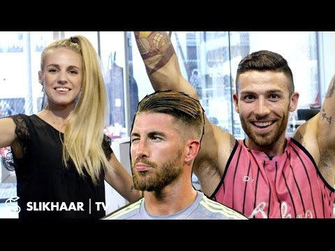 Sergio Ramos Hairstyle 2016 football EM ★ Men's Hair Tutorial ★ Created By Hair lovers