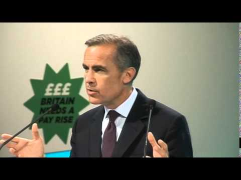 Mark Carney, Governor of the Bank of England, addresses TUC Congress 2014 in Liverpool