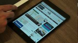 Apple iPad Mini India Unboxing and Quick Comparison with iPad 3 - iGyaan