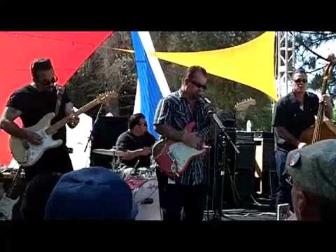 Kid Ramos and the 44s Live at Irvine Lake Blues Festival