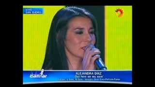 Alejandra Díaz - Out here on my own - Soñando por cantar