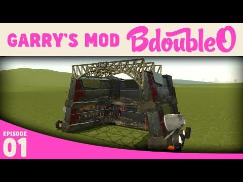 Garry's Mod Battle Bots w/ B-Team and friends!
