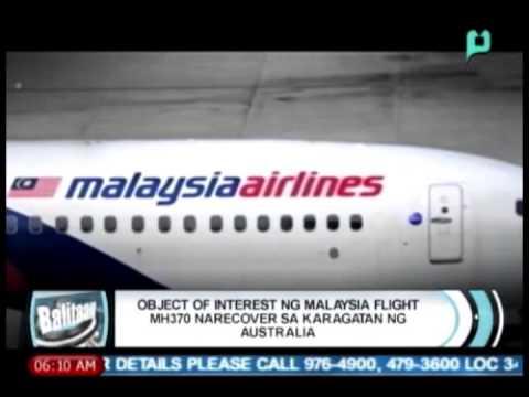 'Object of interest' ng Malaysia Airlines Flight MH370 narecover sa karagatan ng Australia