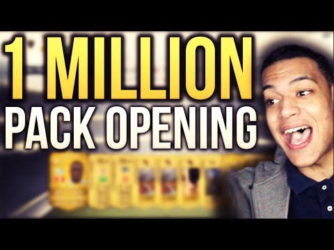 FIFA 14 - HUGE 1 MILLION COIN PACK OPENING!