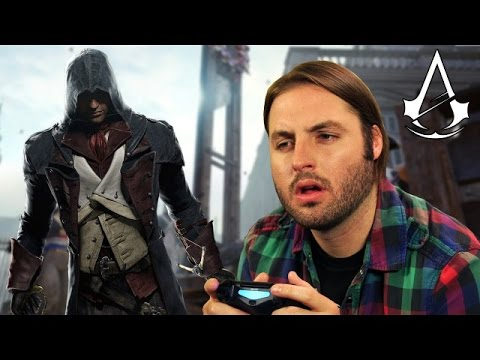 ASSASSIN'S CREED UNITY сбивает с толку