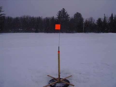 New Hampshire Ice Fishing GoPro