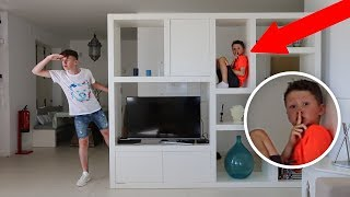 HIDE AND SEEK WITH LITTLE BROTHER! (In LUXURY HOLIDAY Mansion)