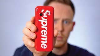 UNBOXING The Ridiculous SUPREME Burner Phone
