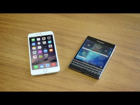 iPhone 6 Plus vs. BlackBerry Passport - Dogfight!