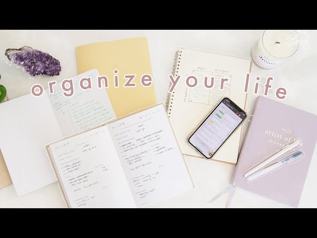 How to Be More Organized amp Productive  10 Habits for Life Organization
