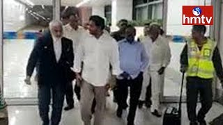 YS Jagan Mohan Reddy Reached Delhi | Updates From Airport | hmtv