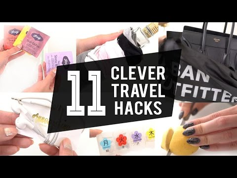 TOP 11 TRAVEL HACKS YOU NEED TO KNOW | ANNEORSHINE