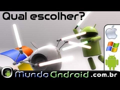Qual comprar ? IOS, Windows Phone ou Android com resp. Travamentos.