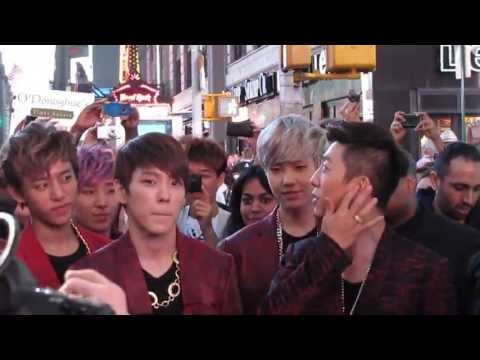 B.A.P Live in NYC MTV K 130516