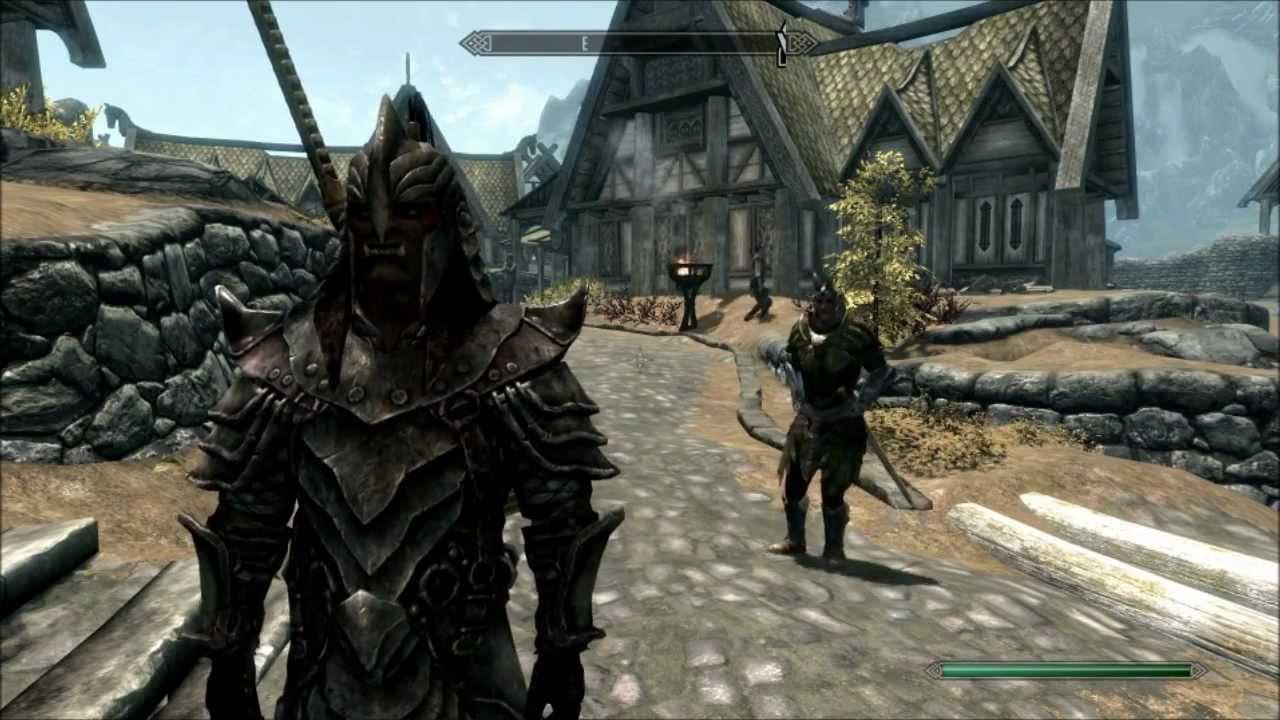 Orcish Light Armor Skyrim Skyrim Full Orcish Armor
