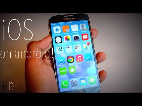 Make Android Look Like iOS 7 HD!