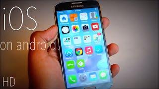 Make Android Look Like iOS 7 HD!