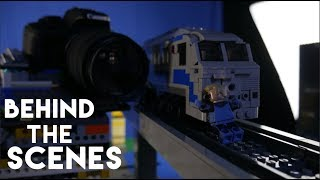 LEGO Brickfilm Behind the Scenes: The Incredibles Train Wreck