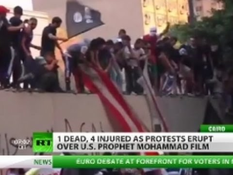 Islam-insulting film triggers attacks on US consulate in Libya, embassy in Egypt