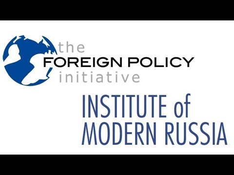 "Video: FPI & IMR Event ""Future of U.S.-Russia Relations"" - 8/28/12"