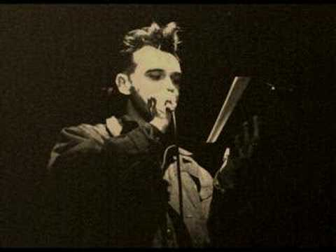 Morrissey reads Proust : Luxuria at the Town & Country Club 1988 Video