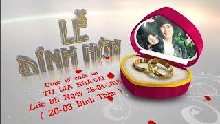 Đám hỏi Quốc Vũ - Hải Yến