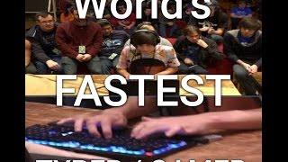 World's fastest gamer / typer StepMania on Speed Demos Archive
